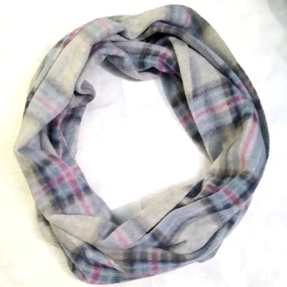 Old Navy Infinity Scarf Multi Color Plaid